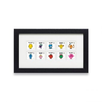 Royal Mail MR MEN Little Miss Framed Stamps