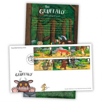 The Gruffalo First Day Cover - Stamps (Tallents House postmark)