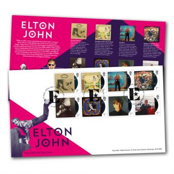 Elton John Special Stamps First Day Cover - Tallents House