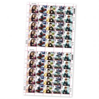 Harry Potter Hermoine Grainger Full Stamp Sheet