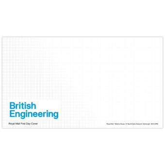 British Engineering First Day Envelope