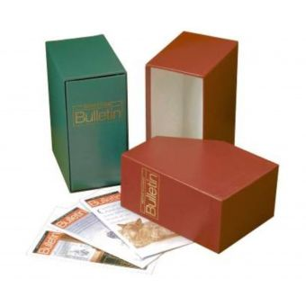 Royal Mail Philatelic Bulletin Box Green