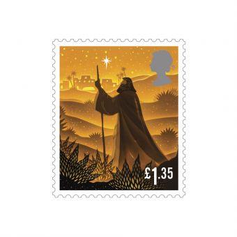 Christmas 2019 £1.35 Stamps x 50