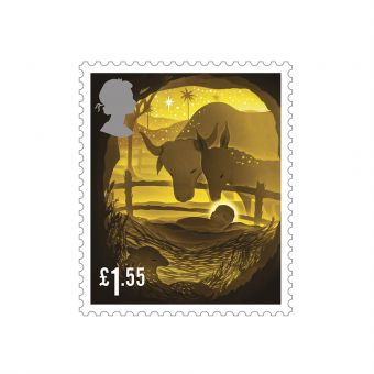 Royal Mail  50 x  £1.35 Christmas 2019  Stamp Sheet