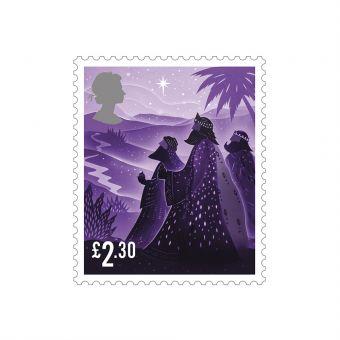 Royal Mail 50 x £2.30 Christmas 2019 Stamp Sheet