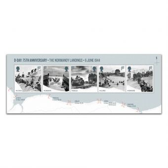 D-Day 75th Anniversary Miniature Sheet - The Normandy Landings - 6 June 1944
