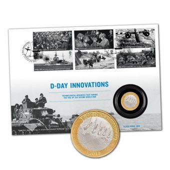 D-Day 75th Anniversary Silver Coin Cover Limited Edition