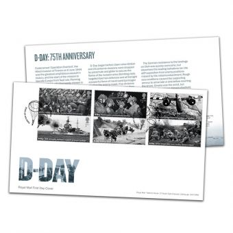 D-Day 75th Anniversary Stamp Souvenir