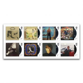 Elton John Eight Special Stamps