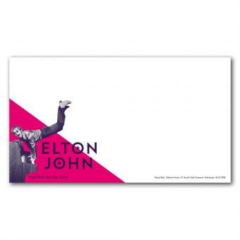 Elton John Special Stamps First Day Envelope