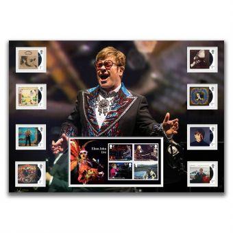 Elton John Stamp Mount