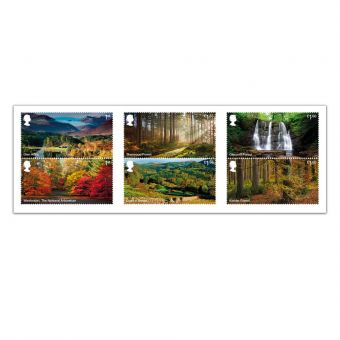 Forests Set of Six Stamps