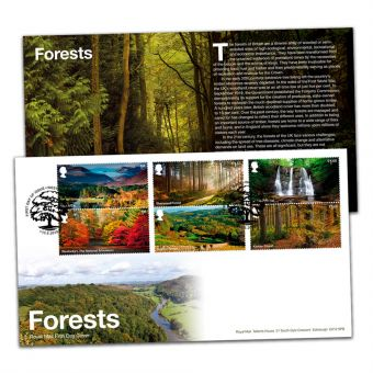Forests Stamp Souvenir