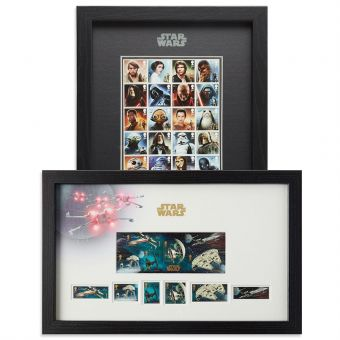 STAR WARS BB-8 Bundle (Framed Stamps) Save 10%