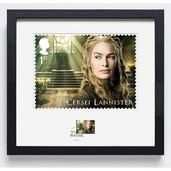 Royal Mail Game of Thrones Cersei Lannister Frame