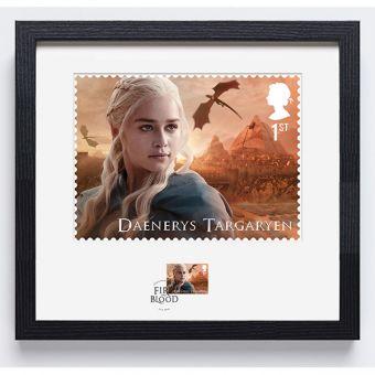 Royal Mail Game of Thrones Daenerys Targaryen Frame