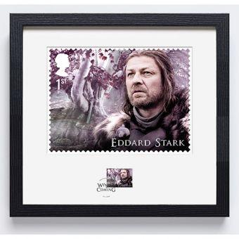 royal mail game of thrones eddard stark-frame