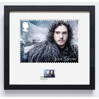Game of Thrones Jon Snow  Limited Edition Framed Print