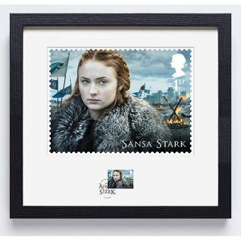 Royal Mail Game of Thrones Sansa Stark Frame