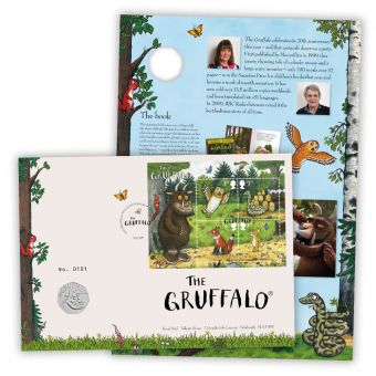 The Gruffalo Brilliant Uncirculated Coin Cover
