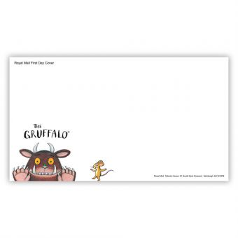The Gruffalo First Day Envelope - Stamps