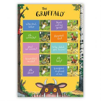 The Gruffalo Generic/Collector's Sheet