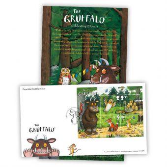 The Gruffalo Stamp Sheet Souvenir