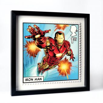 Royal Mail MARVEL Iron Man Framed Gallery Print