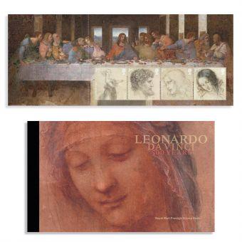 Leonardo da Vinci Prestige Stamp Book