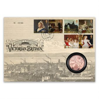 Queen Victoria Bicentenary Gold £5 Coin Cover