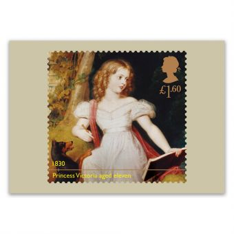 Queen Victoria Bicentenary Set of 11 Postcards - 1830 - Princess Victoria aged eleven