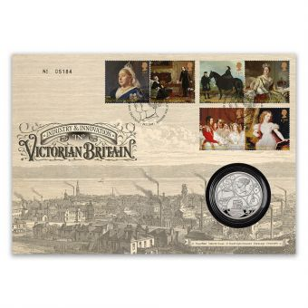 Queen Victoria Bicentenary Silver £5 Coin Cover