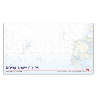 Royal Navy Ships First Day Envelope