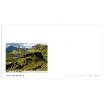 Definitives 2019 Scotland First Day Envelope