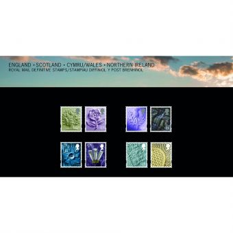 Definitives 2019 Country Stamps Presentation Pack