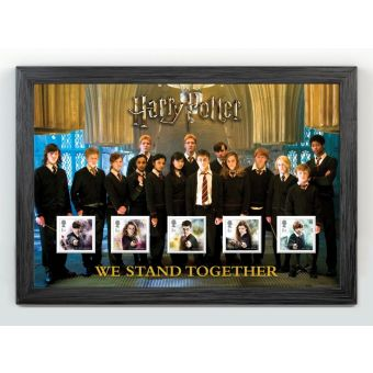 Harry Potter Dumbledore's Army We Stand Together Framed Stamps
