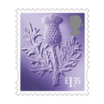 Definitives 2019 Scotland Country Definitive £1.35 Stamp
