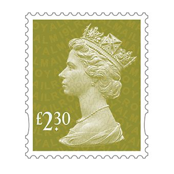 Definitives 2019 Machin Mint Stamp Gooseberry Green £2.30