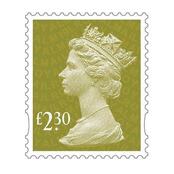 25 x £2.30 Stamp Sheet