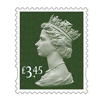 25 x £3.45 Stamp Sheet