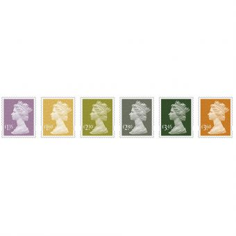 Definitives 2019 Machin Definitives Stamp Set