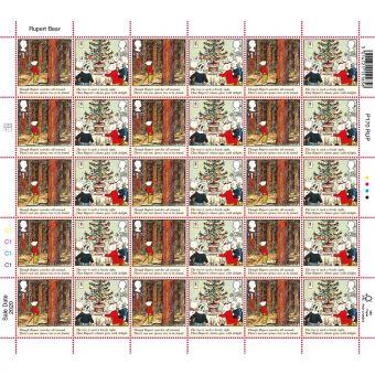 Rupert Bear Half Sheet £1.70 x 30