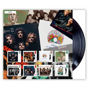 Queen Album Collection Fan Sheet