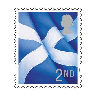 Ss501 1 X 2nd Scotland Stamp
