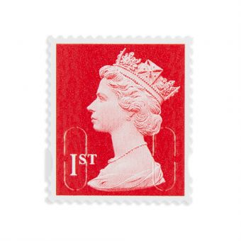 Royal Mail 100 X 1st Class Self Adhesive Stamp Sheet