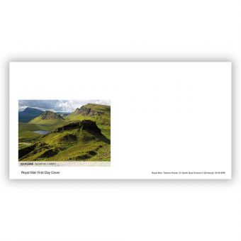 2021 Country Definitive First Day Envelope - Scotland