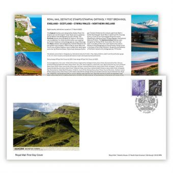 2020 Country Definitives Scotland First Day Cover (Tallents House)