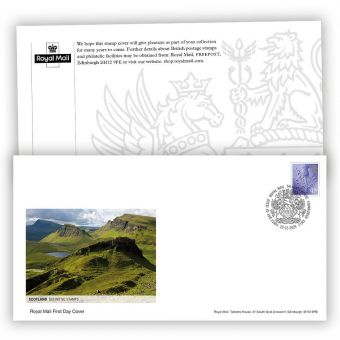 2021 Country Definitive First Day Cover - Scotland with Tallents House Postmark