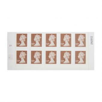 Royal Mail 10 X 1.00 Stamp Sheet