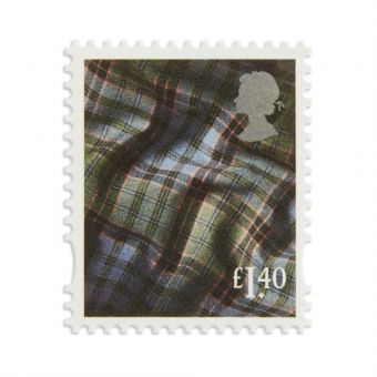 Ss026 New Definitives 2017 Country Definitives Scotland Stamp 1.40